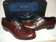 100% AUTHENTIC NEW MEN PRADA BRIGHT CALF DRIVERS/LOAFERS 10/US 11