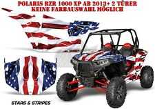 AMR Racing DECORO GRAPHIC KIT POLARIS General/RZR 900s/1000xp Stars N STRIPES B