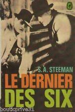 Livre de poche de  1967 - Le dernier des six - S A Steeman