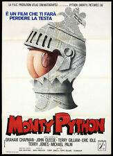 MONTY PYTHON E IL SACRO GRAAL MANIFESTO FILM TERRY GILLIAM 1974 MOVIE POSTER 2F