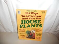 Woman's Day 101 Ways To Love, Grow and Care For House Plants No. 3 (1977)
