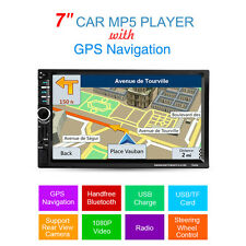 Auto 1 DIN 7'' Bluetooth Touch Screen Stereo Radio FM MP5 MP3 USB AUX TF Player