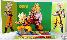 DRAGONBALL Z GOKU Action Figure on Custom Design Display Diarama Diorama [c]