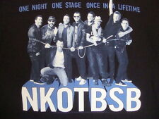 New Kids on The Block Backstreet Boys NKOTBSB Pop Dance Music Boy Band T Shirt L