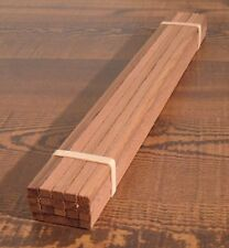 "Western Red Cedar G 1/24 Scale Model Lumber (20) 3/16"" x 1/4"" x 12"""
