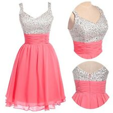 Gorgeous Sequins Mini Party Short Dress Homecoming Bridesmaid Cocktail Prom Gown