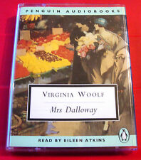 Virginia Woolf Mrs Dalloway 2-Tape Audio Book Eileen Atkins