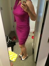 Purple Transformer Sexy Dress  Size M UK 10-12