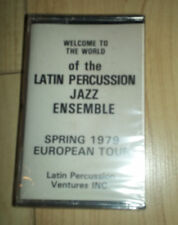 Latin Percussion Jazz Ensemble - 1979 Euro Tour - Cassette - SEALED