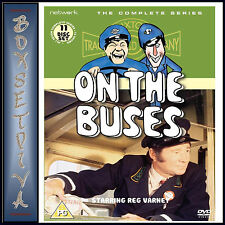 ON THE BUSES - HE COMPLETE SERIES  DVD BOXSET ***BRAND NEW*****