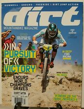 Dirt Mountain bike Victory Pursuit Enduro Joey Schusler Nov 2014 FREE SHIPPING