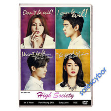 """BUY 5 GET 1 FREE""  High Society- Korean Drama (4DVDs) Excellent English Sub!"
