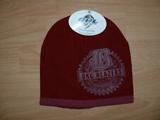 OKLAHOMA CITY BLAZERS CHL CUFFLESS WINTER KNIT HAT CAP - MAROON COLLECTORS HAT