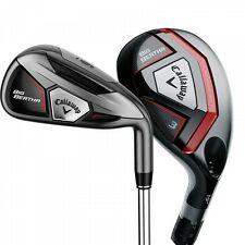 New Callaway Big Bertha Combo Iron Set 4h-AW UST Recoil Senior Graphite Irons