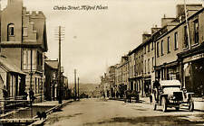 Milford Haven. Charles Street. Motor Car.