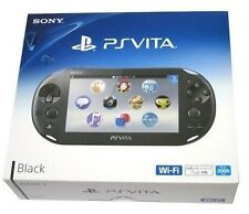 SONY 2013 PS Vita Wi-Fi Console BLACK PCH-2000 ZA11 Japan Model New
