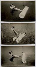 Hydravion Nimrod - Test de flottabilité - 8 tirages argentiques - 1931