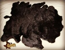 FUR ACCENTS Faux Buffalo Hide Area Rug BrownLuxury Faux Fur 5' x 8'
