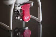 DJI Phantom 3 Translucent RED Gimbal Lock & Lens Cap 3d printed