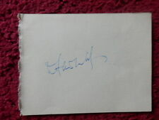 DOUGLAS FAIRBANKS JR ACTOR / PATRICIA MEDINA ACTRESS AUTOGRAPHS