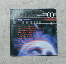 ELEGY - NUMERO 1 VARIOUS ARTISTS CD SAMPLE CARD SLEEVE FRONT 242 / AND ONE ETC