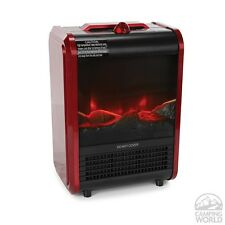 New in Box! Comfort Zone Winter Mini Ceramic Fireplace Heater CZFP1 Home/Office