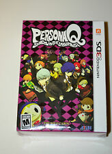 Persona Q Shadow of the Labyrinth The Wild Cards Premium Edition 3DS BRAND NEW