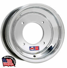 "DWT POLISHED RED LABEL FRONT WHEEL RIM 11"" HONDA ATC 250R 350X 200X ATC250R"