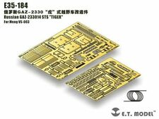 "ET Model 1/35 #E35184 GAZ-233014 STS ""Tiger"" Detail Up Set for Meng Model"