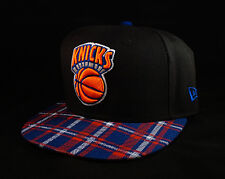 New York Knicks NBA New Era Snapback Adjustable Hat Cap NWT Black