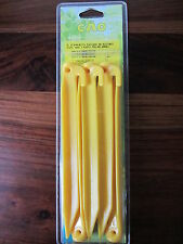 5 piquets plastiques 225mm - CAO CAMPING  -----