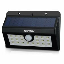 LED Solarleuchten [3 Intelligente Modi] Mpow 3-in-1 Wireless Wetterfeste Licht