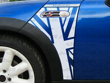 Banderas guardabarros-adhesivo Fender decal F. Mini Cooper r50 r53 Works Union Jack