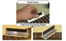 GuitarTechs FRET END BEVEL FILE Guitar Sanding Beam Luthier Tool