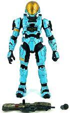 McFarlane Toys: Halo 3 2008 SPARTAN SOLDIER E.V.A. (CYAN) (SERIES 3) - Loose
