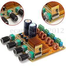 Bluetooth 4.0 Digitale 2.1 Class D HIFI Power Amplifier Board 3CH Module DIY