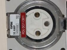 CLIPSAL 56SO332 Socket Outlet 3 Round pin 32Amp  IP66 250V for plug top electric