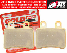 REAR DISC BRAKE PADS- PEUGEOT Geopolis 250 Executive AJP Calipers/No ABS (07-10)