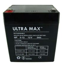 ULTRAMAX 12V 5.0ah UP-RATED Battery for JABO Bait Boat | REPLACES the 4ah