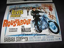 Joan Freeman signed photo Elvis Presley rare autograph classic ROUSTABOUT film