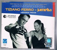 TIZIANO FERRO JAMELIA UNIVERSAL PRAYER CD SINGOLO SINGLE cds COME NUOVO
