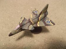 Built 1/144: Swedish SAAB J-37 VIGGEN Fighter Aircraft