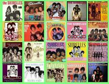 THE SHIRELLES RECORD ALBUMS,  20 PHOTO FRIDGE MAGNETS
