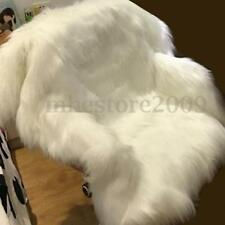 White Long Pile Shaggy Fur Fabric Upholstery Costumes Photography Backdrop 150cm