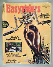 Easyriders Magazine #1 - June, 1971 ~~ original ~ motorcycle magazine