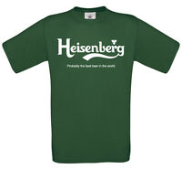 Heisenberg Beer t-shirt | Walter White Breaking Bad funny t-shirt top tee 0324