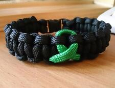 Kidney Cancer Inspired handmade paracord bracelet