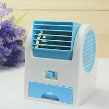 USB Perfume Turbine Fan Air Conditioner Mini Laptop Desk Cooler Adjustable Angle