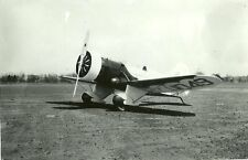 "GEE BEE # X11049 B & W 5"" X 7"" RACING AIRPLANE PHOTOGRAPH"