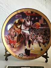 Michael Jordan Collection 1991 Championship Collector Plate*
